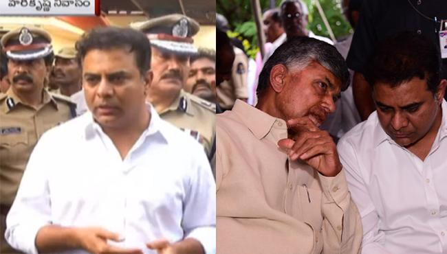 Telangana Minister Condolences To Nandamuri Harikrishna - Sakshi