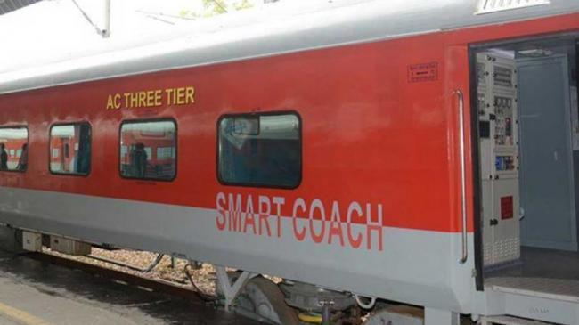 Railways To Introduce Smart Coaches Soon - Sakshi