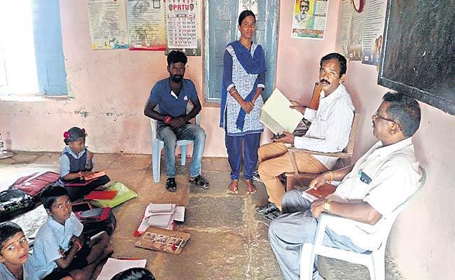 Teacher Absent To Duty - Sakshi