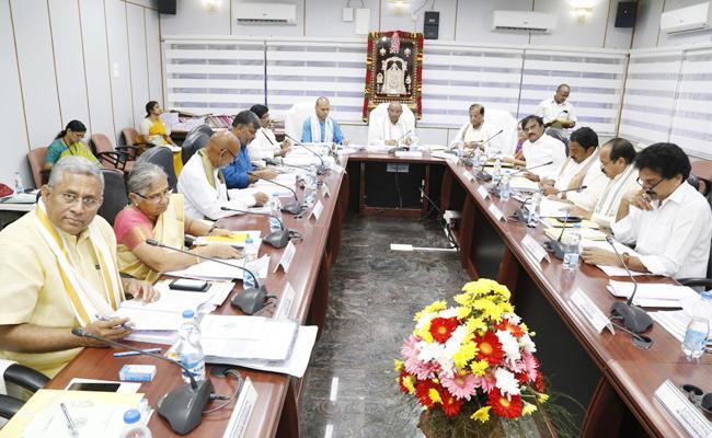 TTD Transport Department Wages Hikes - Sakshi