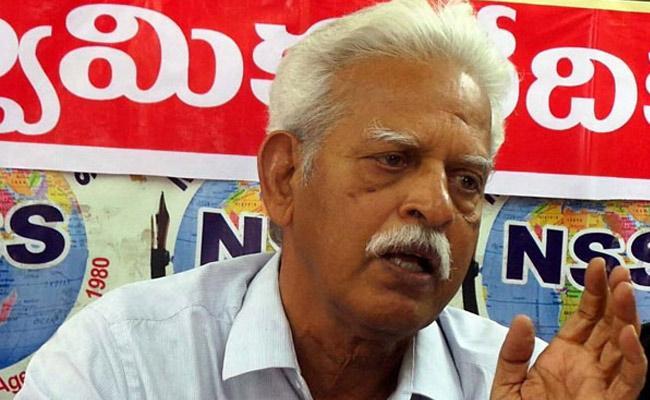 Verasa Leader Varavarao Arrested - Sakshi