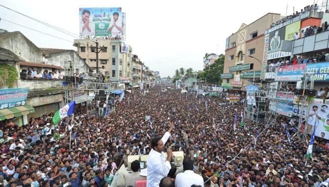 Ys Jagan promise to Anakapalli will be District - Sakshi