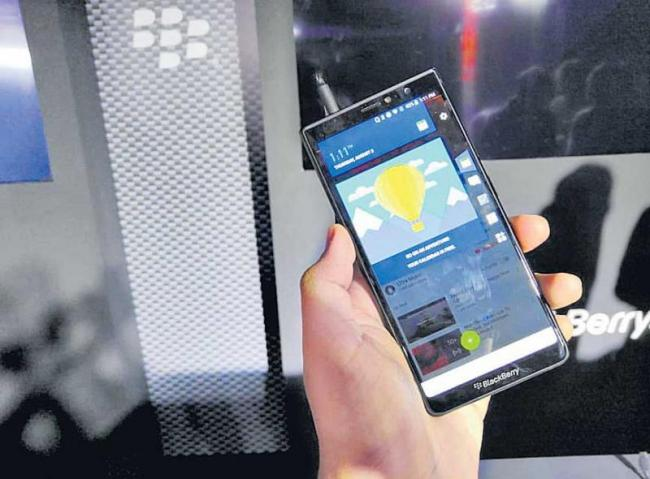 BlackBerry Evolve smartphone into the market - Sakshi