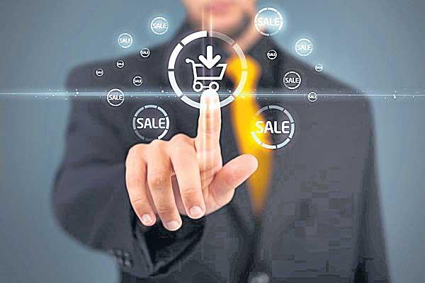 Control over this e-commerce sector - Sakshi