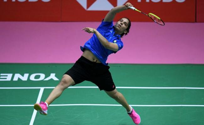 Saina Nehwal lose in quarters of Badminton World Championship - Sakshi