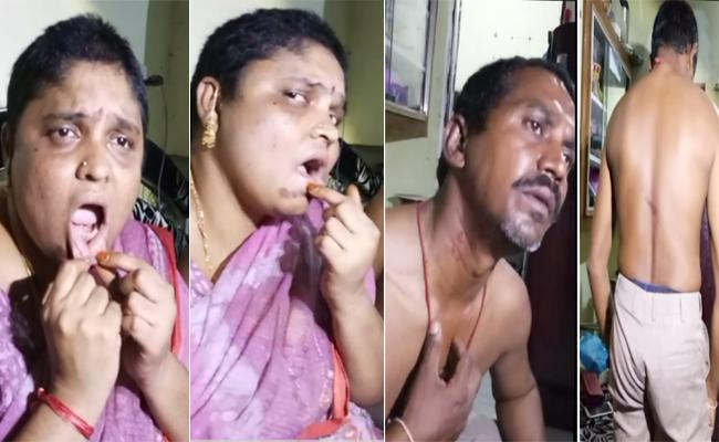 Couple Kidnapped And Attacked In Krishna District All Over Night - Sakshi