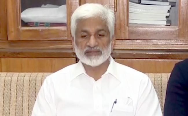 Vijayasai Reddy Asks Speaker To Take Action Against Defected MPs - Sakshi
