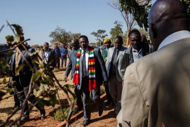 Mnangagwa Wins Zimbabwe Presidential Election - Sakshi