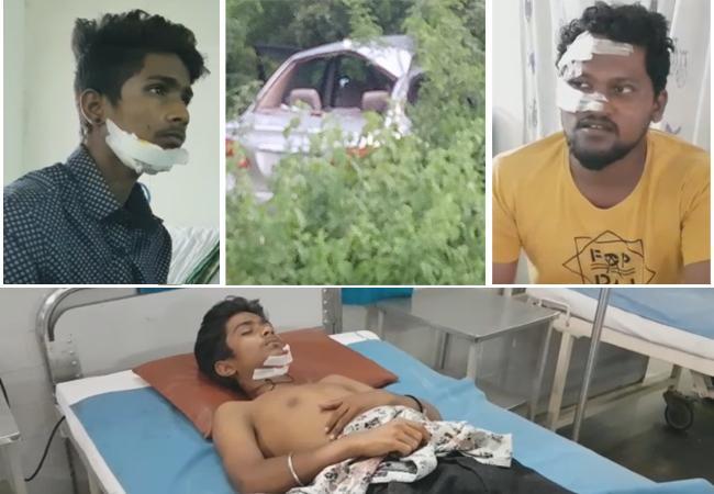 Nandamuri Harikrishna Accident Victims Reaction - Sakshi