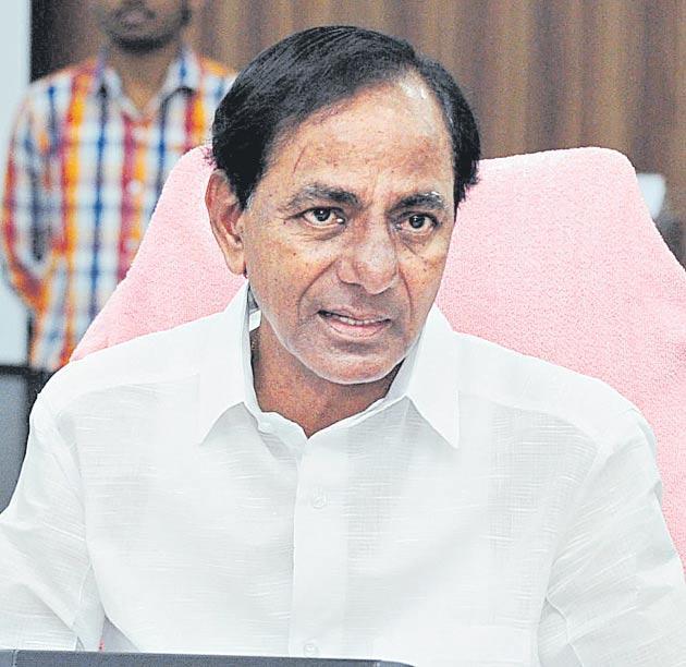 CM k cghandrashekar rao announces to construct Self Respect Building complexes - Sakshi