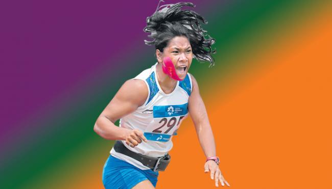 Swapna Barman and Arpinder Singh continue India athletics gold rush - Sakshi