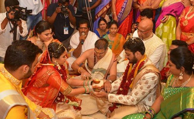 Minister Akhila Priya Wedding Ceremony - Sakshi