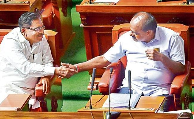 Kumaraswamy Government Completes 100 Days In Karnataka - Sakshi