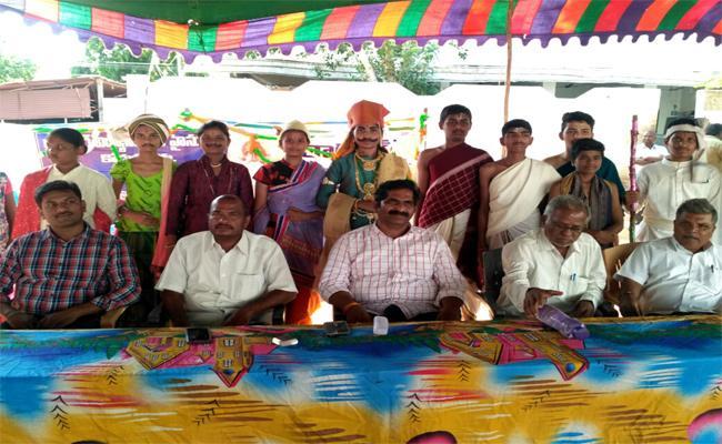 World Telugu Language Day Celebrations  In Kurnool - Sakshi