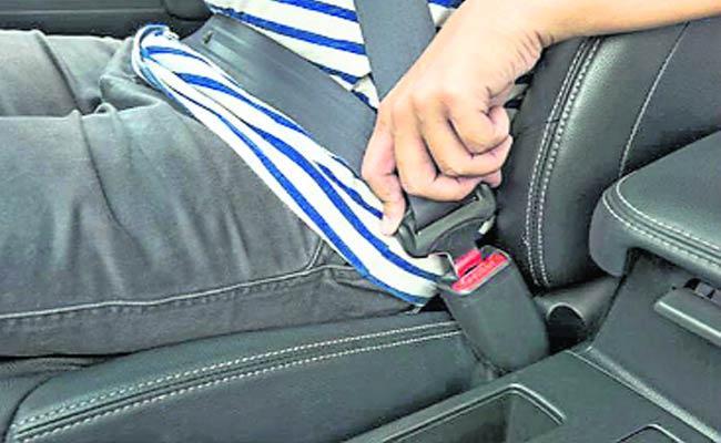 Seat Belt  - Sakshi