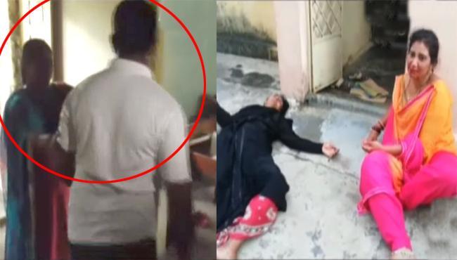 Manuguru SI Atrocity On Wife - Sakshi