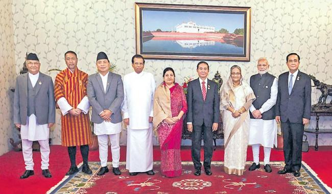 India is committed to work with nations to enhance regional connectivity - Sakshi