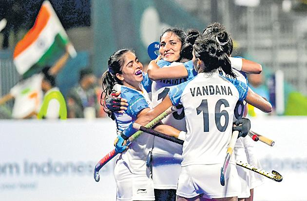 Asian Games 2018 women's hockey: high stakes for India in finals - Sakshi