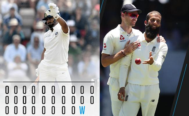 India Loss 5 Wickets Just 53 Runs Against England - Sakshi