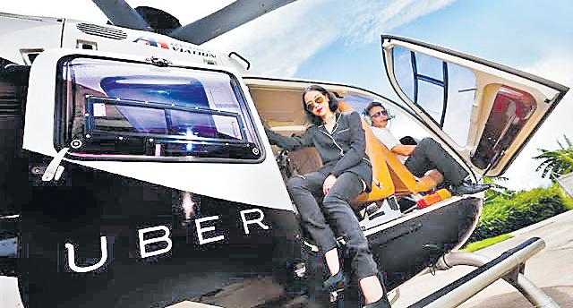 Uber Considering India For Its Aerial Taxi Service - Sakshi