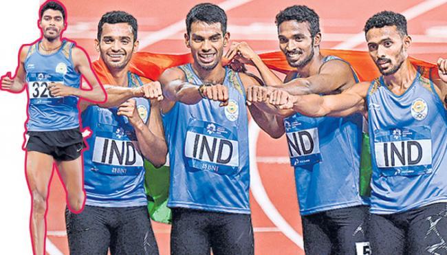 Jinson Johnson, relay women continue India gold rush - Sakshi