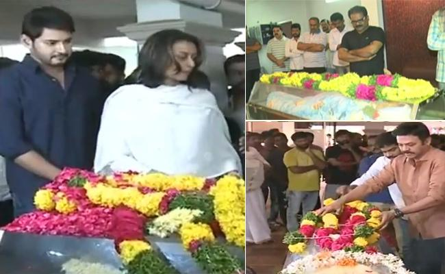 Mahesh Babu Condolence To Director B Jaya - Sakshi