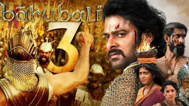 Baahubali 3 Shivraj Singh Chouhan As Prabhas - Sakshi
