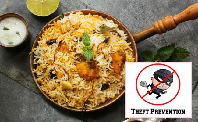 Robbers Attack On Biryani House And Get No Cash In Delhi - Sakshi