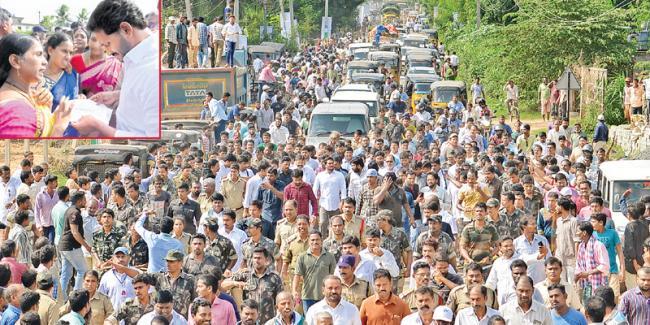 Ys jagan prajasankalpa yatra in visaka district - Sakshi
