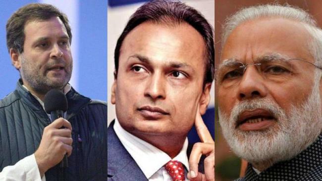 Rahul Gandhis Fresh Attack On Modi Over Rafale Deal - Sakshi