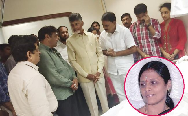 Palle Raghunatha Reddy Wife Died With Illness In Puttaparthi Anantapur - Sakshi