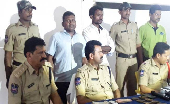 ND Leaders In Police Custody - Sakshi