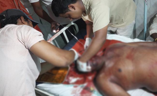 Attempt To Murder On Eluru Person West Godavari - Sakshi