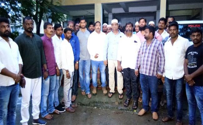 Save Democracy  YSRCP Leaders Protest In Vizianagaram - Sakshi