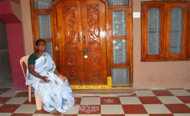 Husband Harassing Wife In Warangal - Sakshi