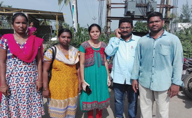 Solve The CRP Probles In Visakhapatnam - Sakshi