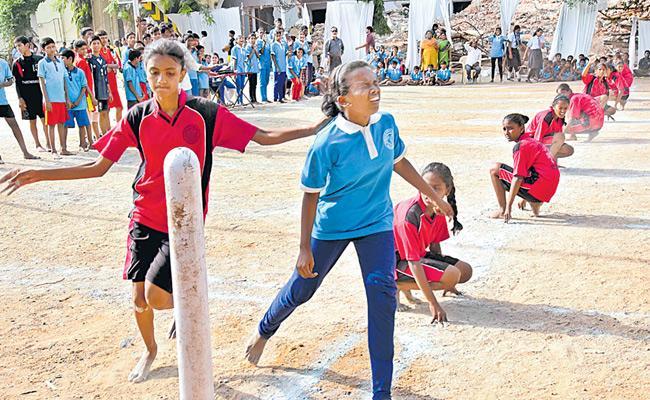 St Payas wins Kho Kho Title - Sakshi