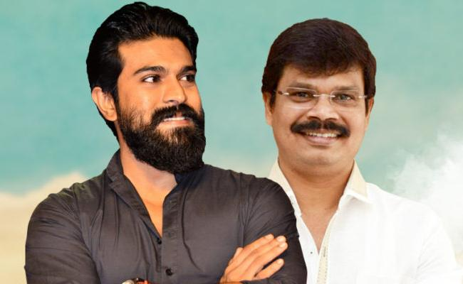 Aryan Rajesh Role In Ram Charan And Boyapati Srinu Film - Sakshi