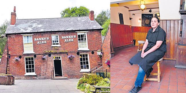 Crooked House Bar in Dudley, UK - Sakshi