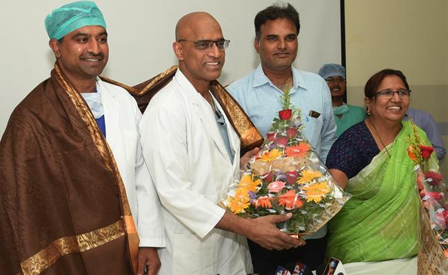 Heart Transplantation Success in GGH Guntur - Sakshi