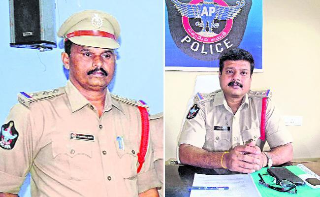 CI Shyama Rao Transfer In Anantapur - Sakshi