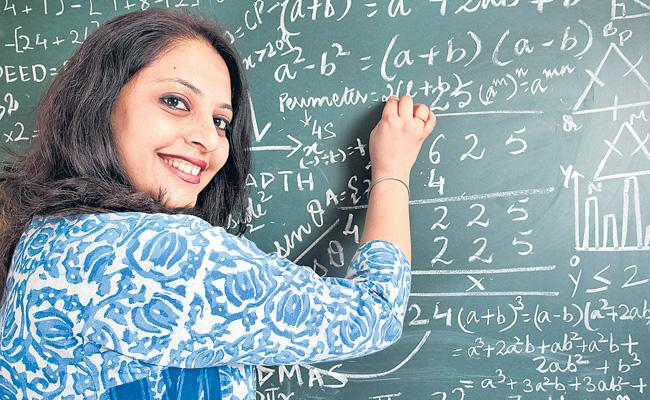 Ladies Are More In Teaching Job In India - Sakshi