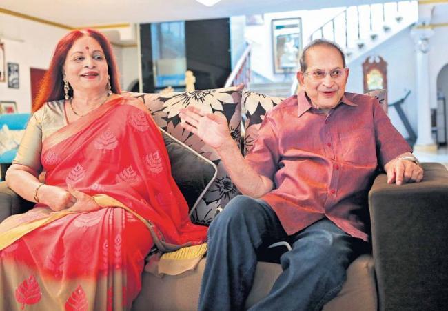 Sunday special chit chat with hero krishna and his wife vijaya nirmala - Sakshi