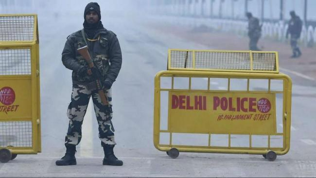 Security Forces In Delhi Are On High Alert After A Warning By Intelligence Agencies - Sakshi