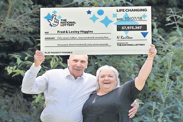 Scottish couple win £58m lottery jackpot despite ripped up ticket - Sakshi