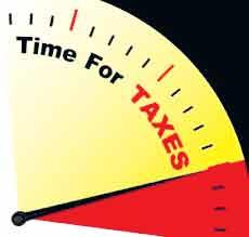 Record of income taxes on your website - Sakshi