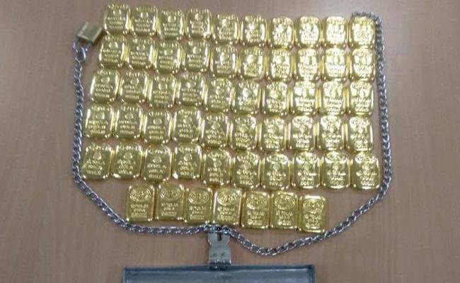 Gold Catch In Bangalore Airport - Sakshi