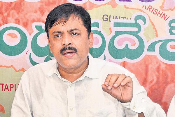 BJP MP gvl narasimha rao commented over tdp - Sakshi