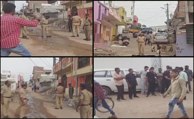 NIA Officers Rides in Old City - Sakshi