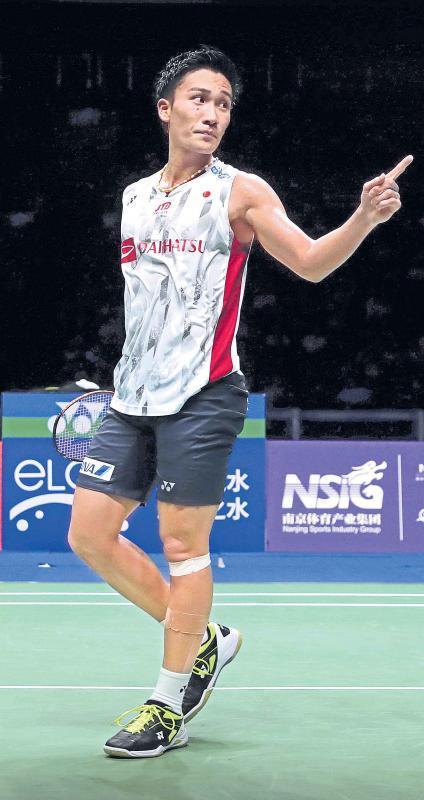 Badminton Asia Championships: Kento Momota dethrones Chen Long - Sakshi